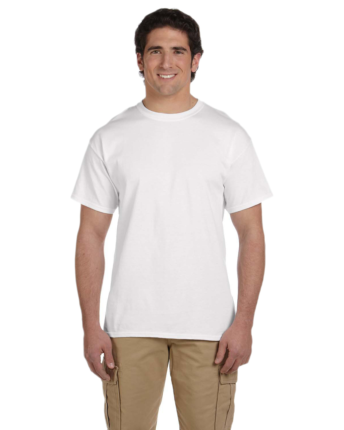Fruit of the Loom 3931 Men's 5 oz., 100% Heavy Cotton HD T-Shirt at GotApparel
