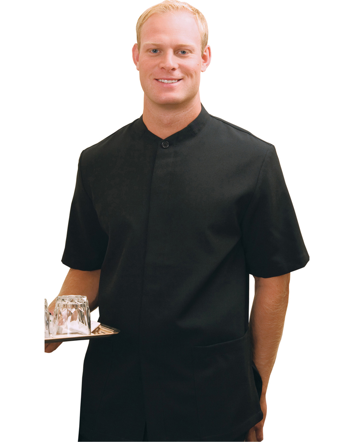 Edwards 4278 Men's Solid Color Service Shirt at GotApparel