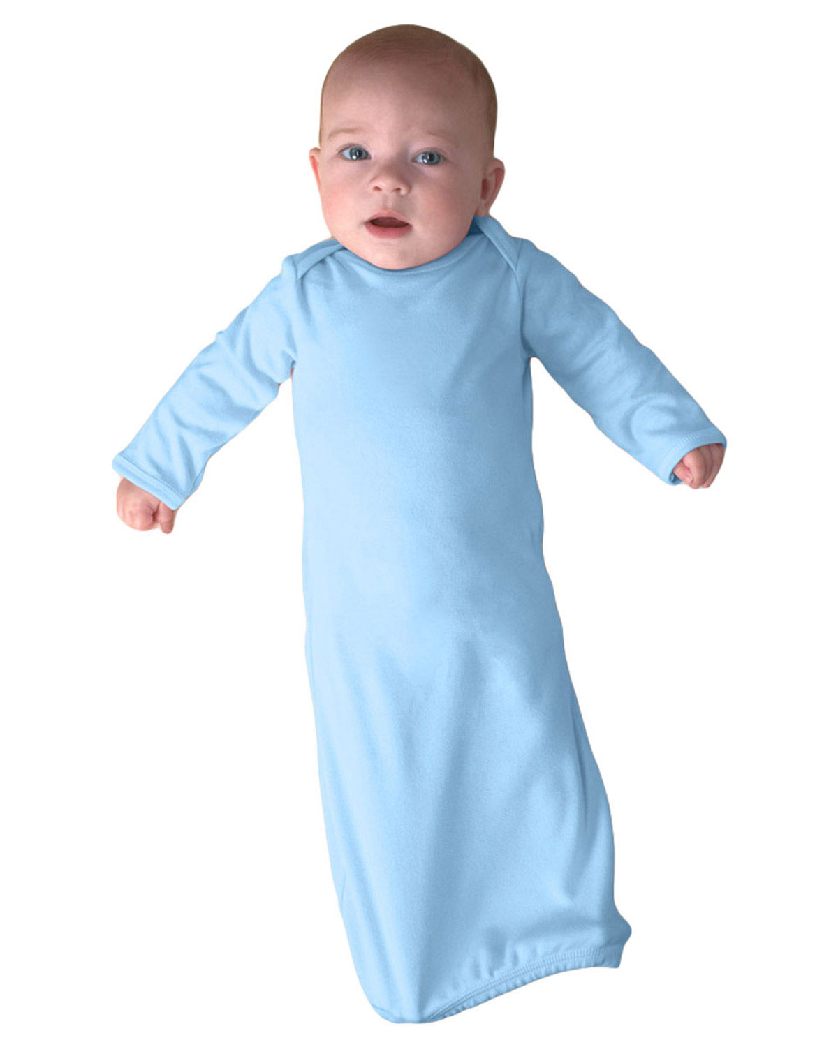 Rabbit Skins 4406 Infants Rib Layette at GotApparel
