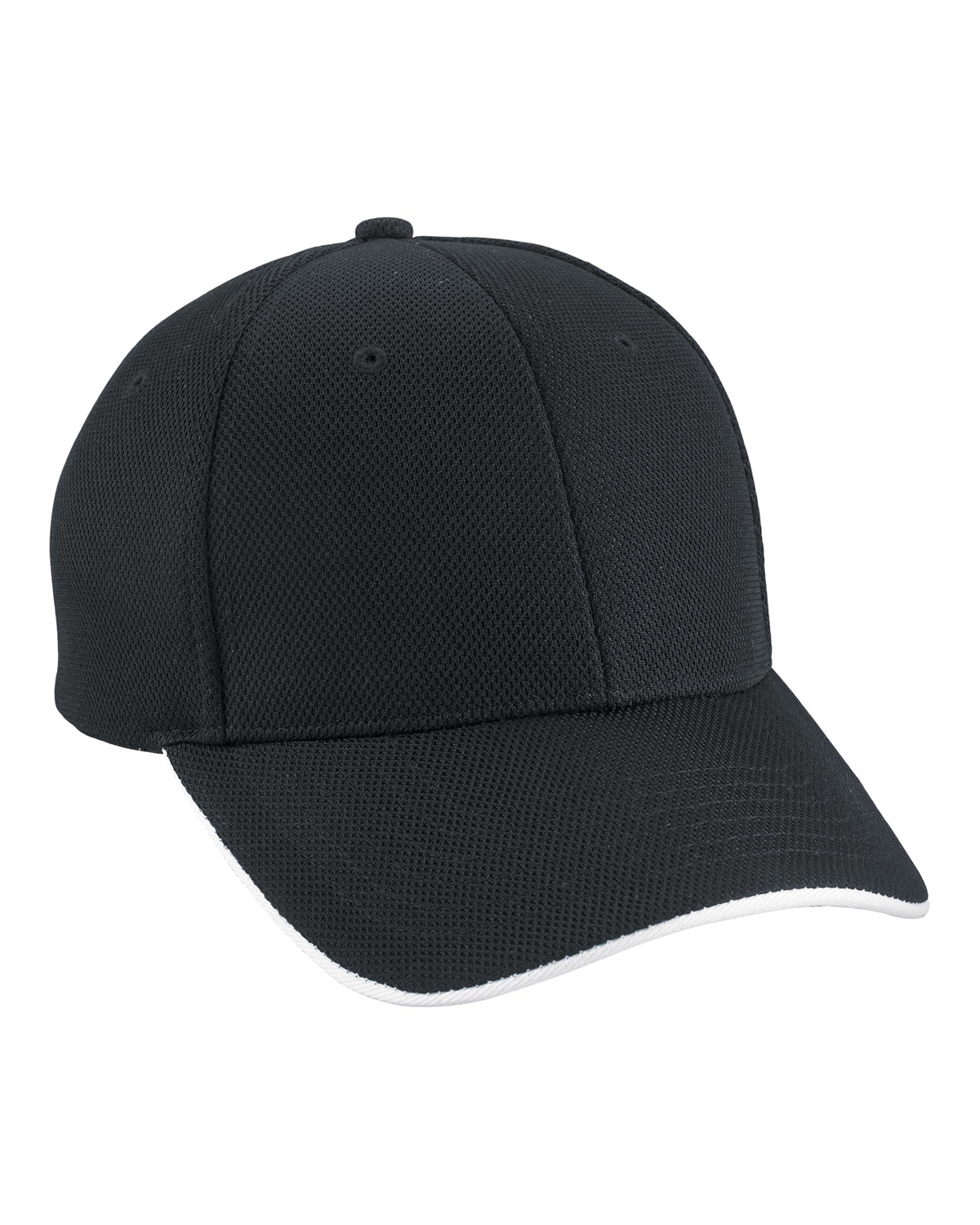 North End 45008 Men Performance Pique Sandwich Cap at GotApparel