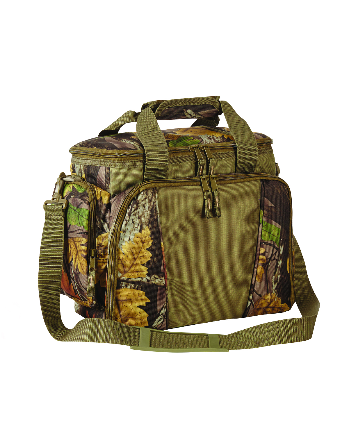 Liberty Bags 5561 Sherwood Camo Camping Cooler at GotApparel