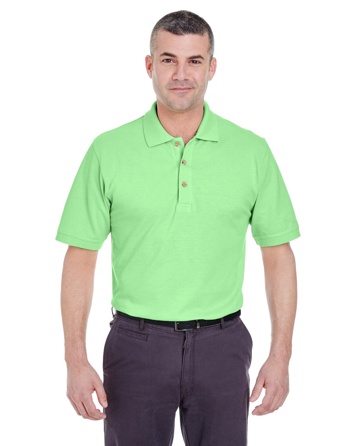 UltraClub 8535 Men Classic Pique Polo at GotApparel