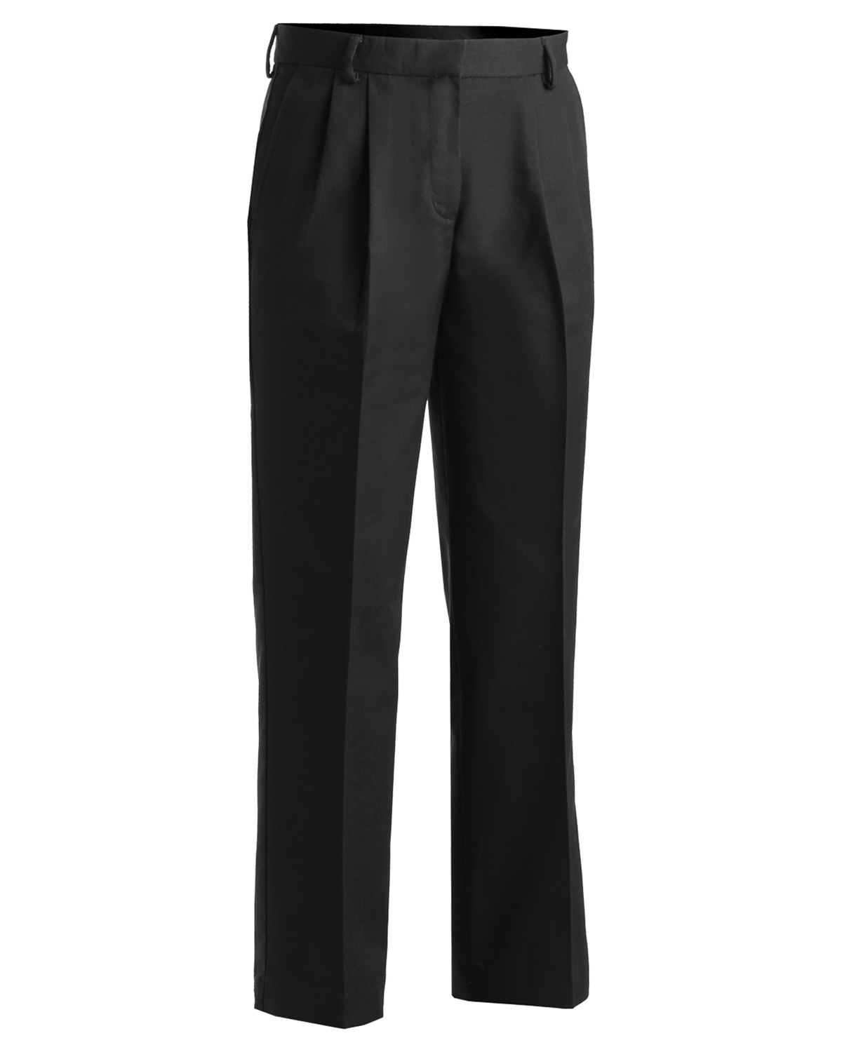 Edwards 8619 Women's Back Pocket Wrinkle Reistant Pleated Pant at GotApparel