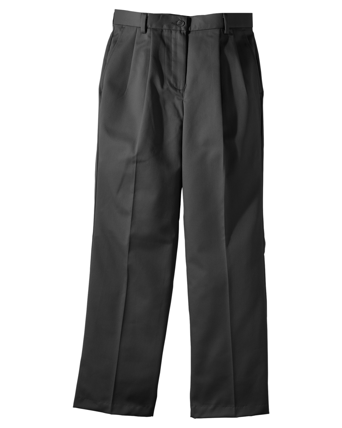 Edwards 8639 Women's Cotton Pleated Chino Pant at GotApparel