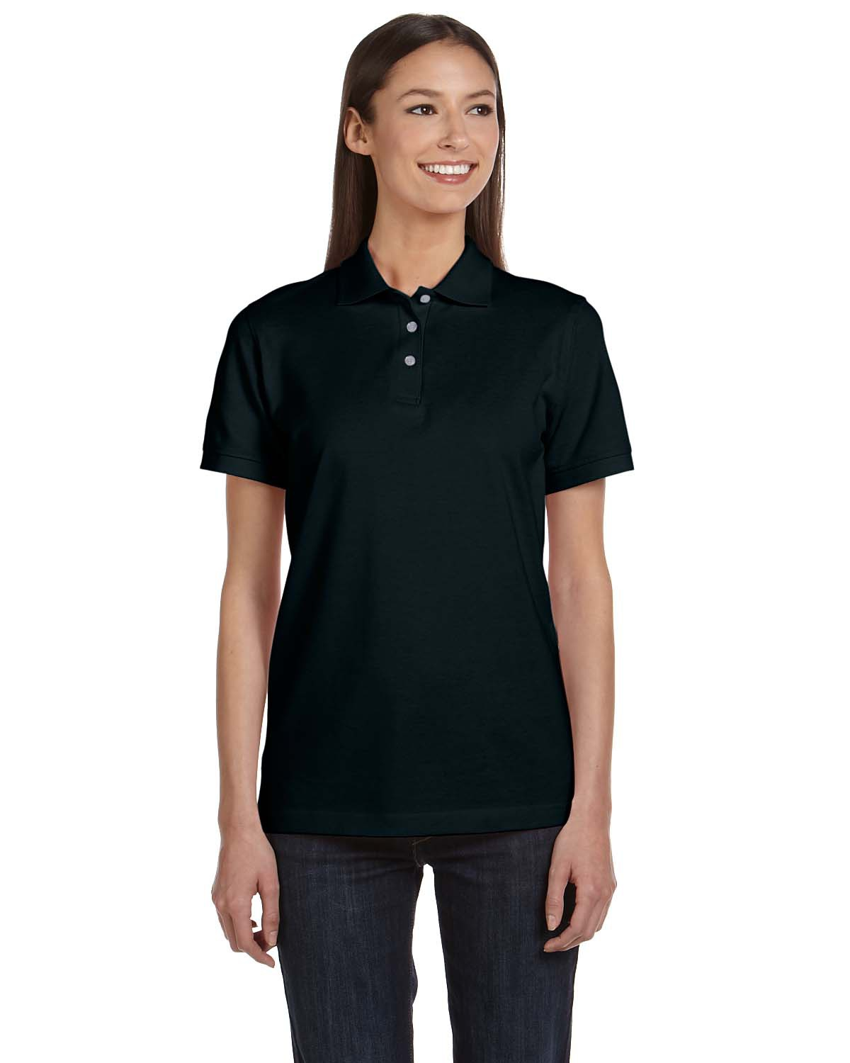 Anvil 8680A Women's Pique Polo at GotApparel
