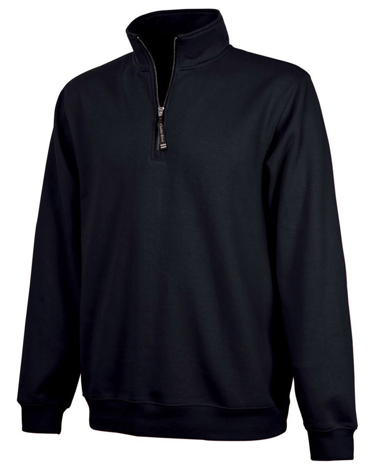 Charles River Apparel 9359 Unisex Crosswind Quarter Zip Sweatshirt at GotApparel