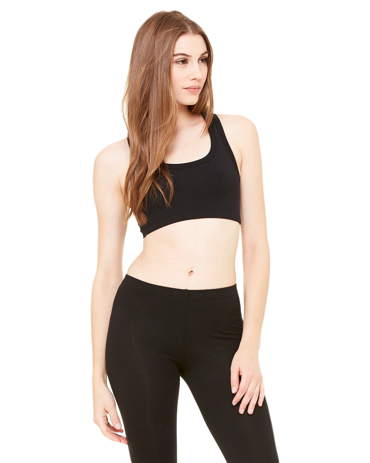 Bella + Canvas 970 Women Nylon/Spandex Sports Bra at GotApparel