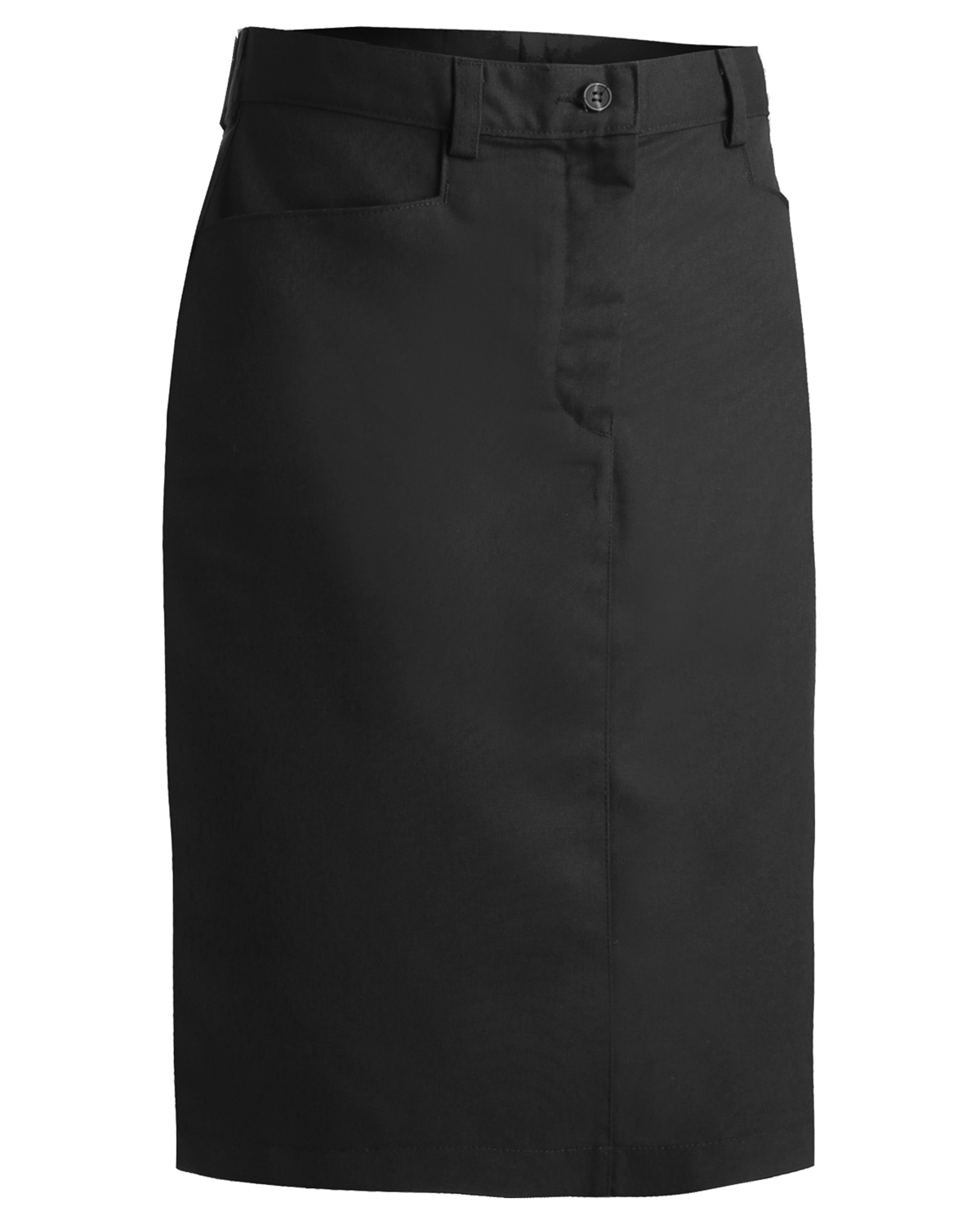 Edwards 9711 Women's Casual Chino Skirt at GotApparel