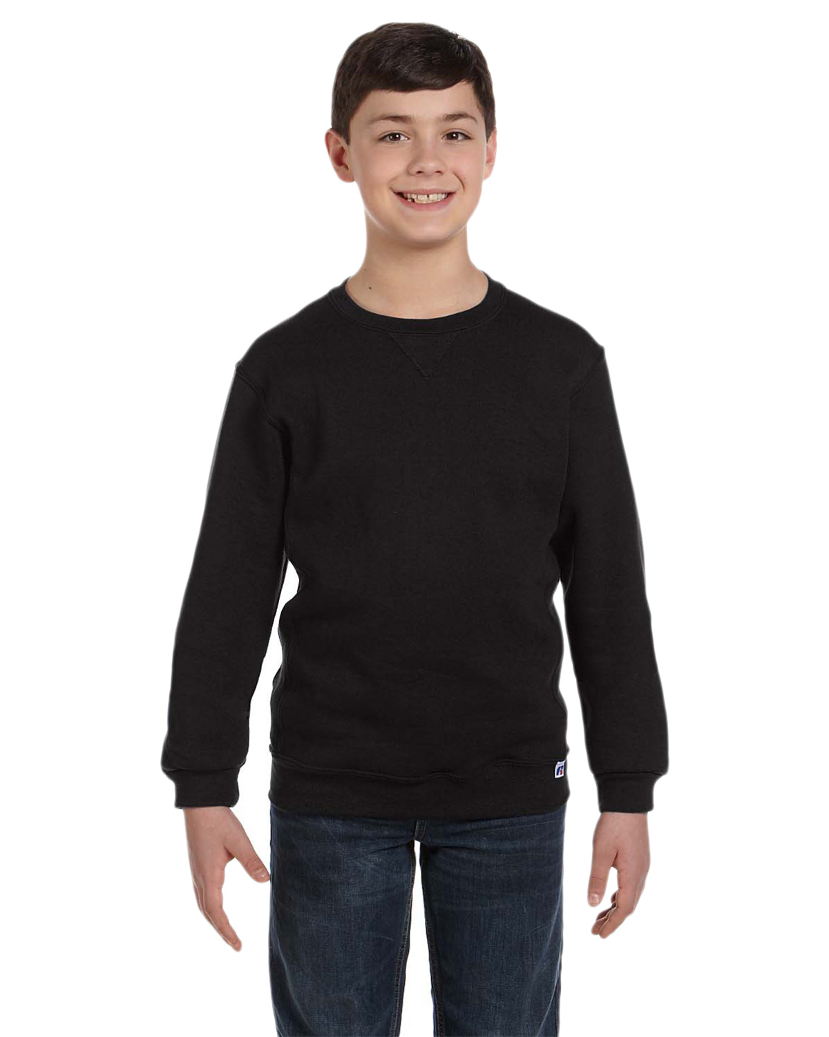 Russell Athletic 998HBB Boys Dri-Power Fleece Crew at GotApparel