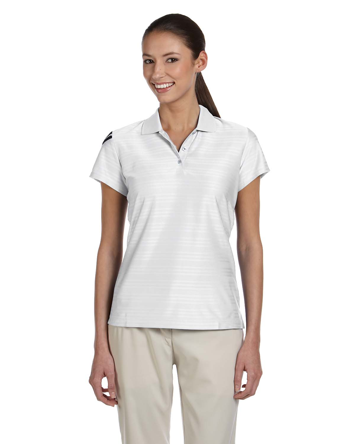 Adidas A135 Women's climacool® Mesh Polo at GotApparel