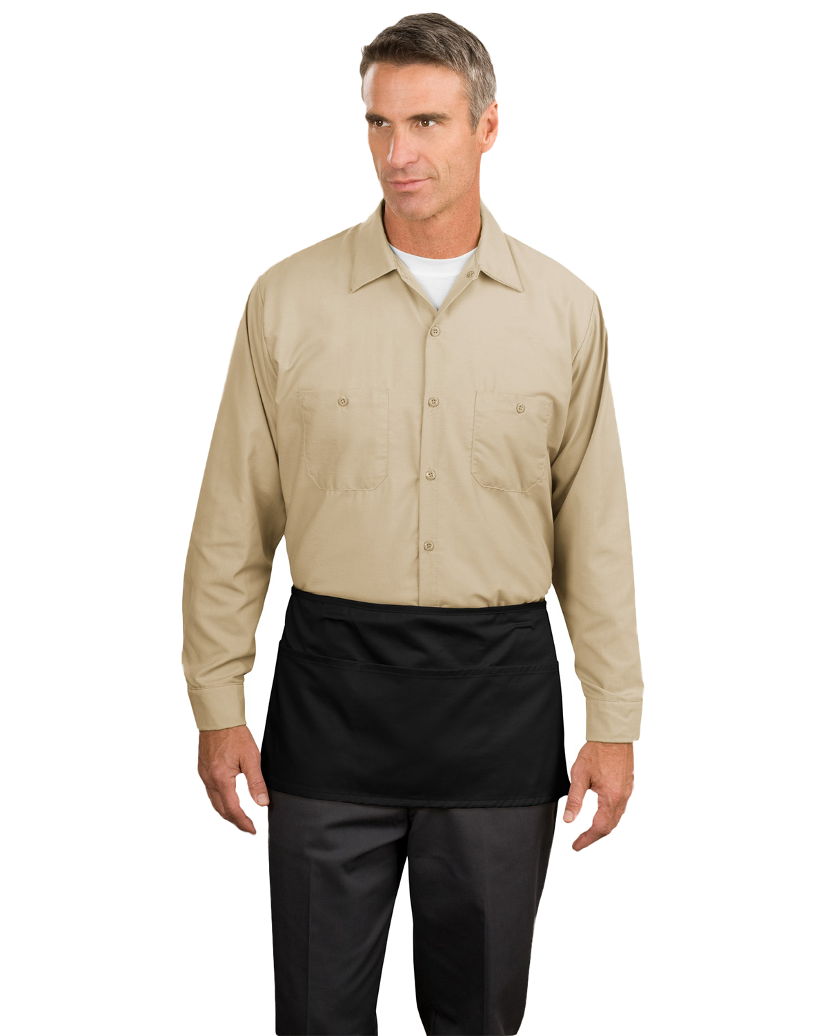 Port Authority A515 Unisex Waist Apron with Pockets at GotApparel