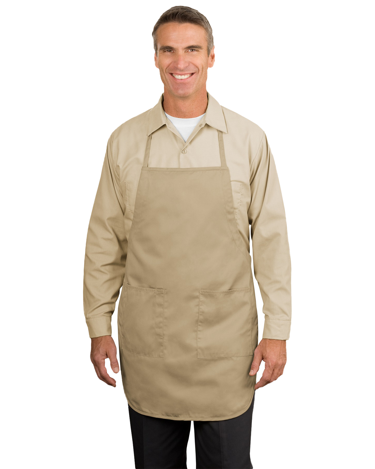 Port Authority A520 Unisex Full Length Apron at GotApparel
