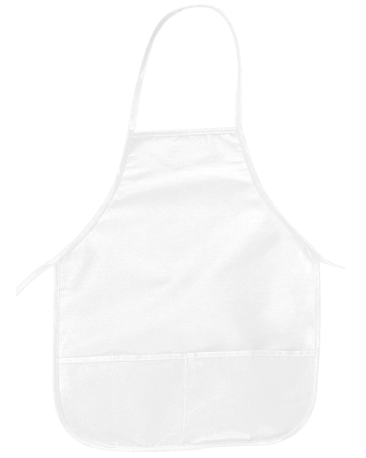 Big Accessories / BAGedge APR51 Unisex Two-Pocket 24&quot Apron at GotApparel