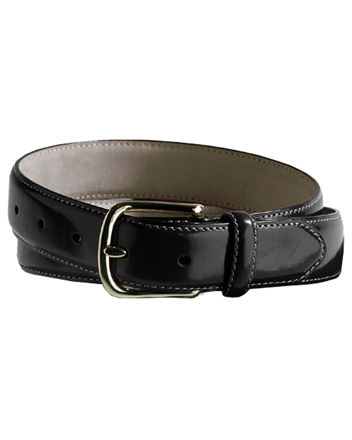 Edwards BP00 Men's Smooth Leather Dress Belt at GotApparel