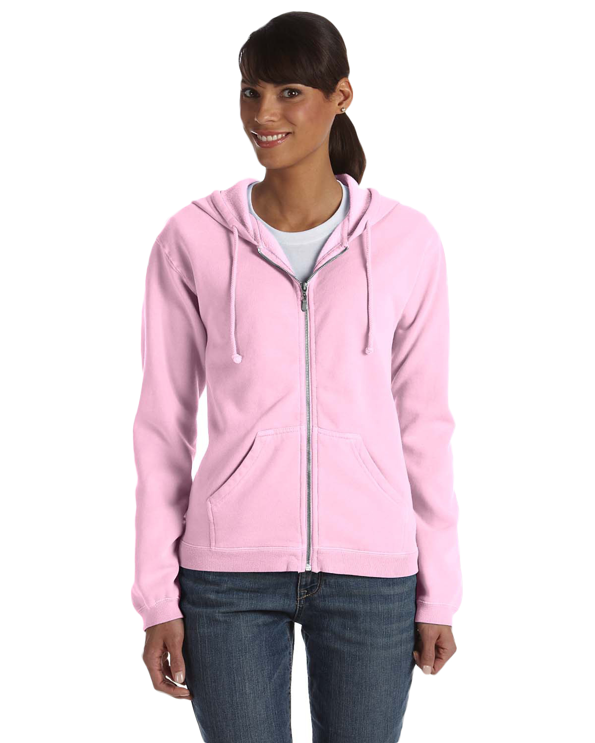 Comfort Colors C1598 Women 10 oz. GarmentDyed Full Zip Hood at GotApparel