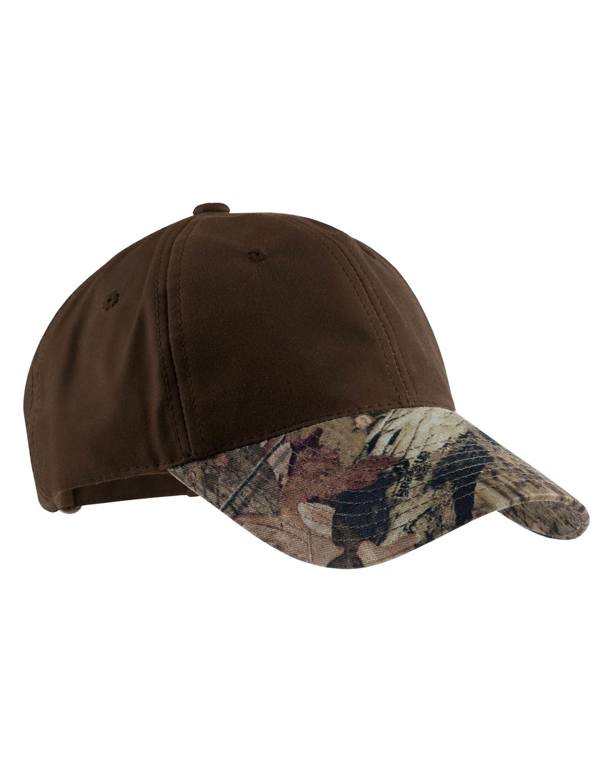 Port Authority C877 Men Pro Camouflage Series Cotton Waxed Cap with Brim at GotApparel