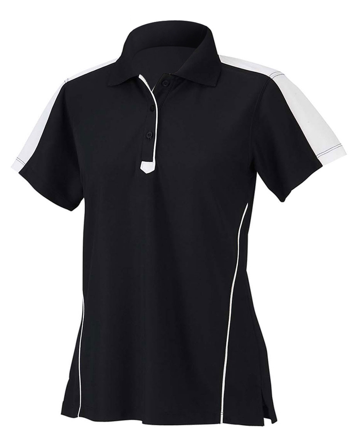 Chestnut Hill CH355W Women Piped Technical Performance Polo at GotApparel
