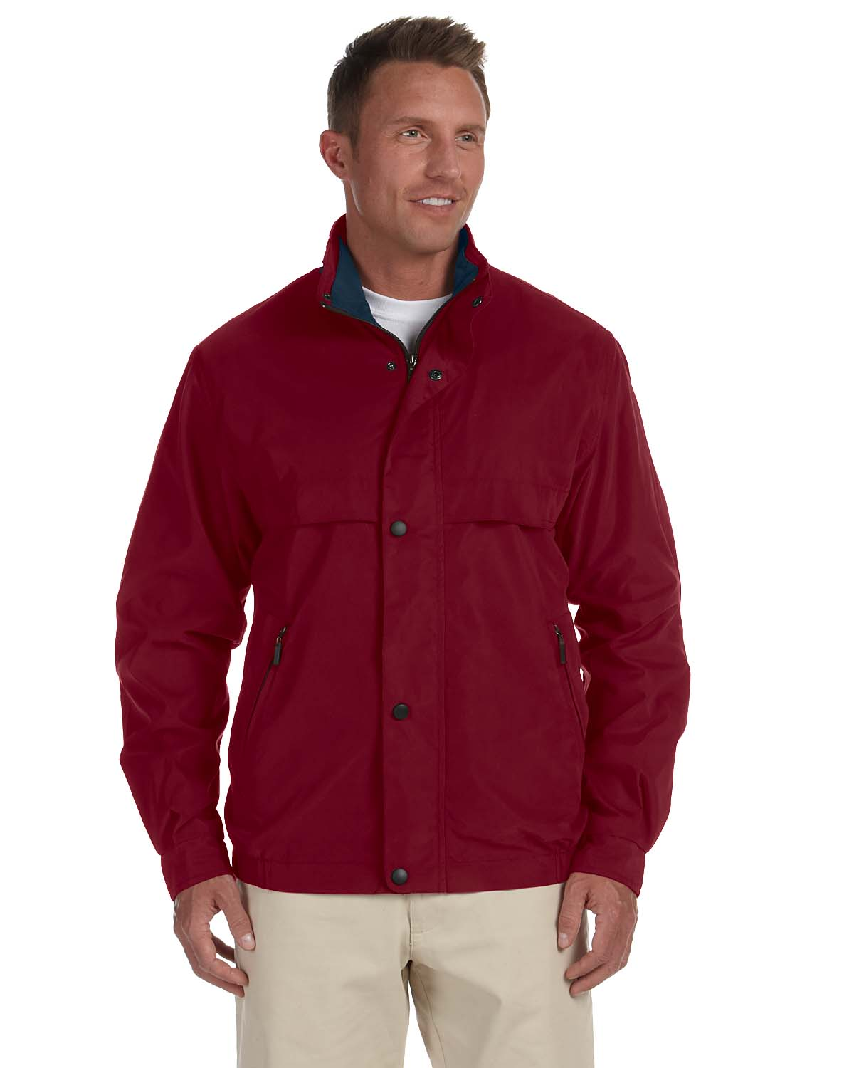 Chestnut Hill CH850 Men Lodge Microfiber Jacket at GotApparel