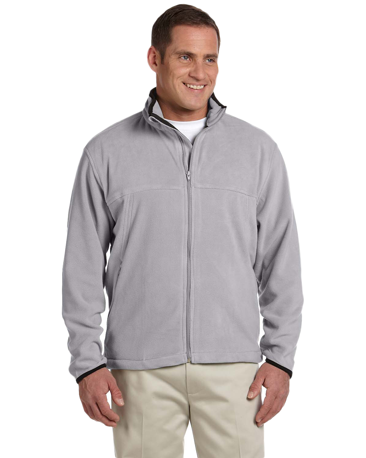 Chestnut Hill CH900 Men Microfleece Full Zip Jacket at GotApparel