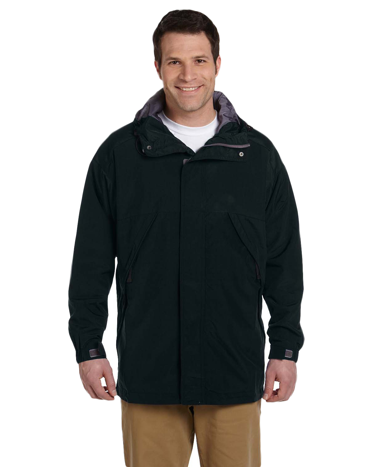 Devon & Jones Classic D735 Men Three-Season Sport Parka at GotApparel