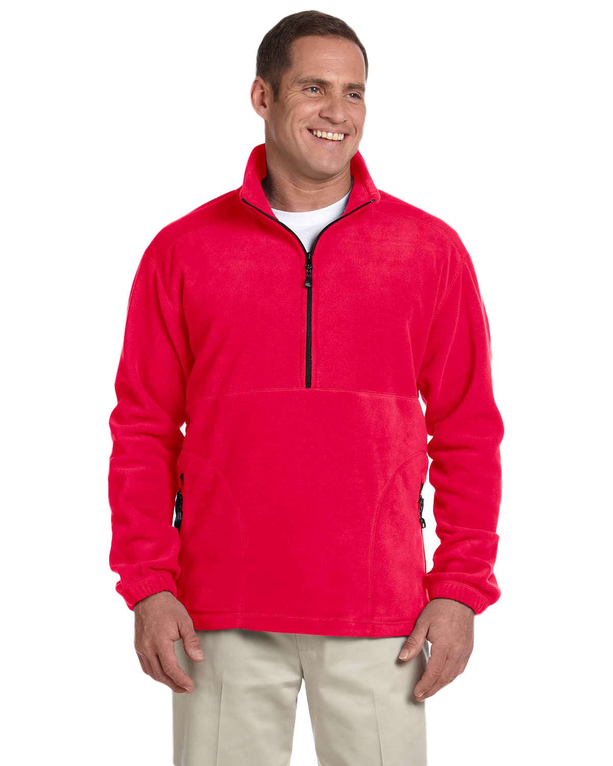 Devon & Jones Classic D775 Unisex Wintercept Quarter-Zip Jacket at GotApparel