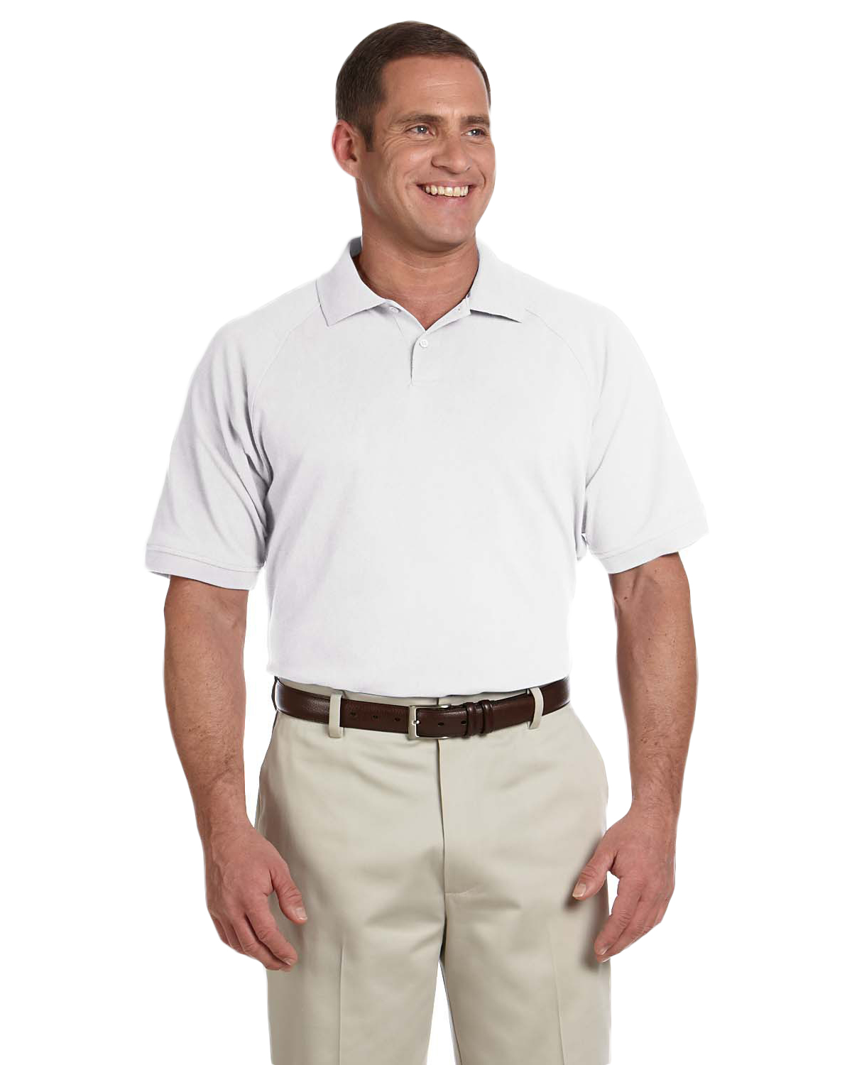 Devon & Jones Sport DG105 Men Dri-Fast Pique Polo at GotApparel