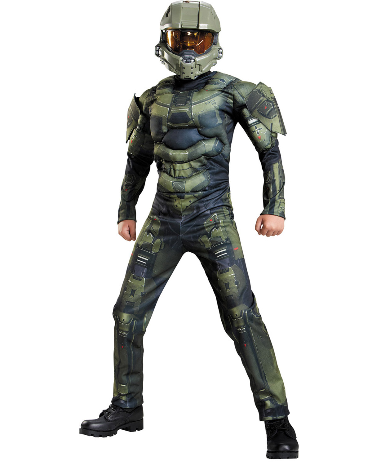 Halloween Costumes DG89975K MASTER CHIEF CLASSIC MUS 78 at GotApparel