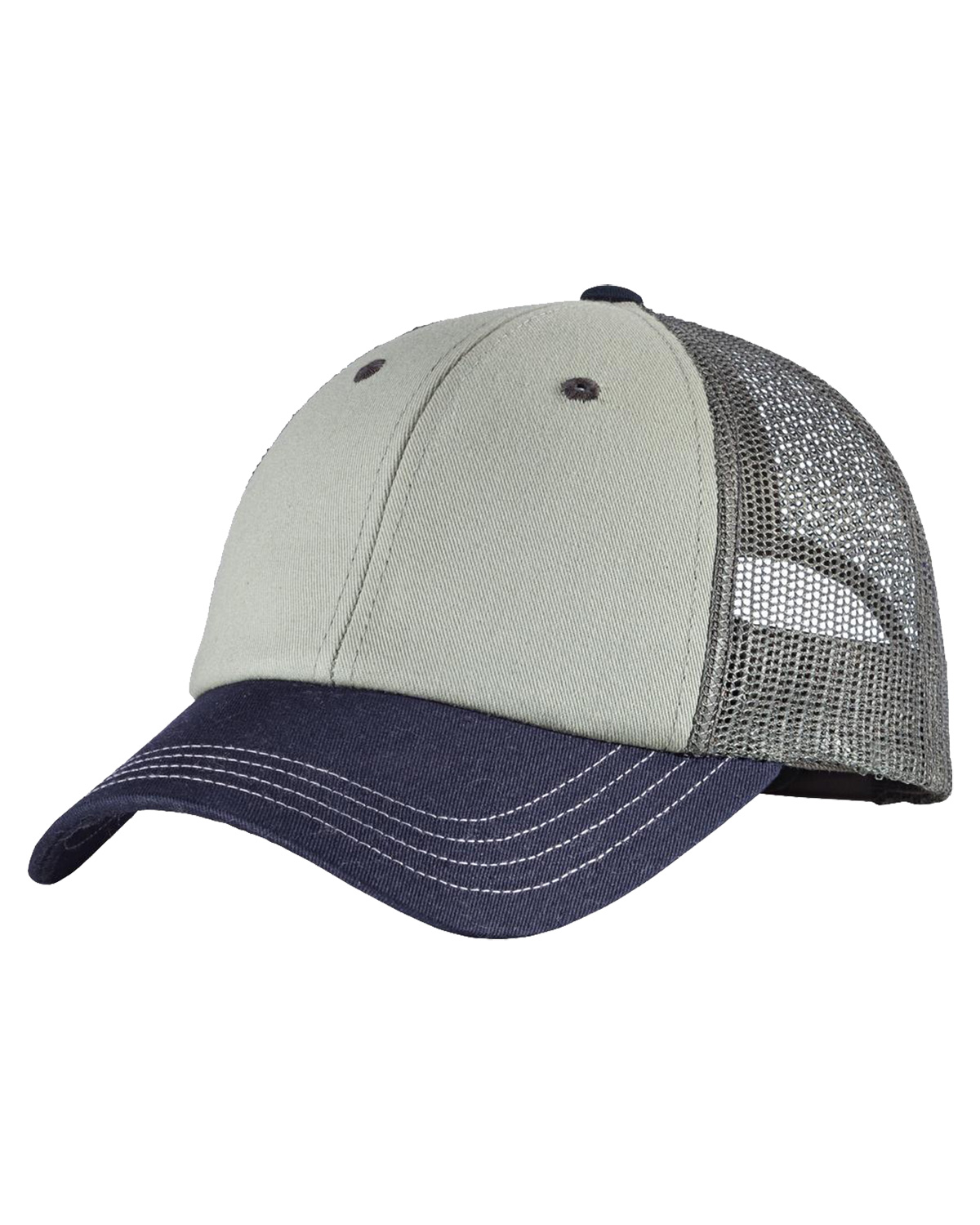 District DT616 Men TriTone Mesh Back Cap at GotApparel