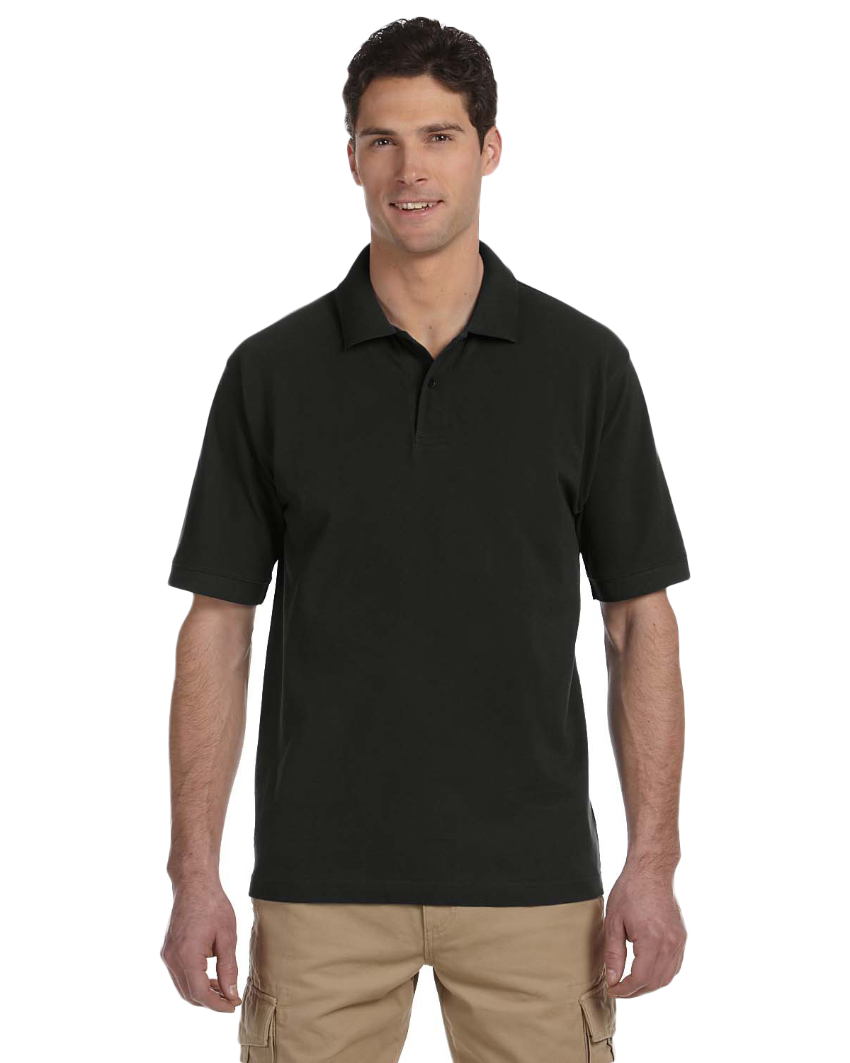 Econscious EC2500 Men 6.5 oz., 100% Organic Cotton Pique Polo at GotApparel