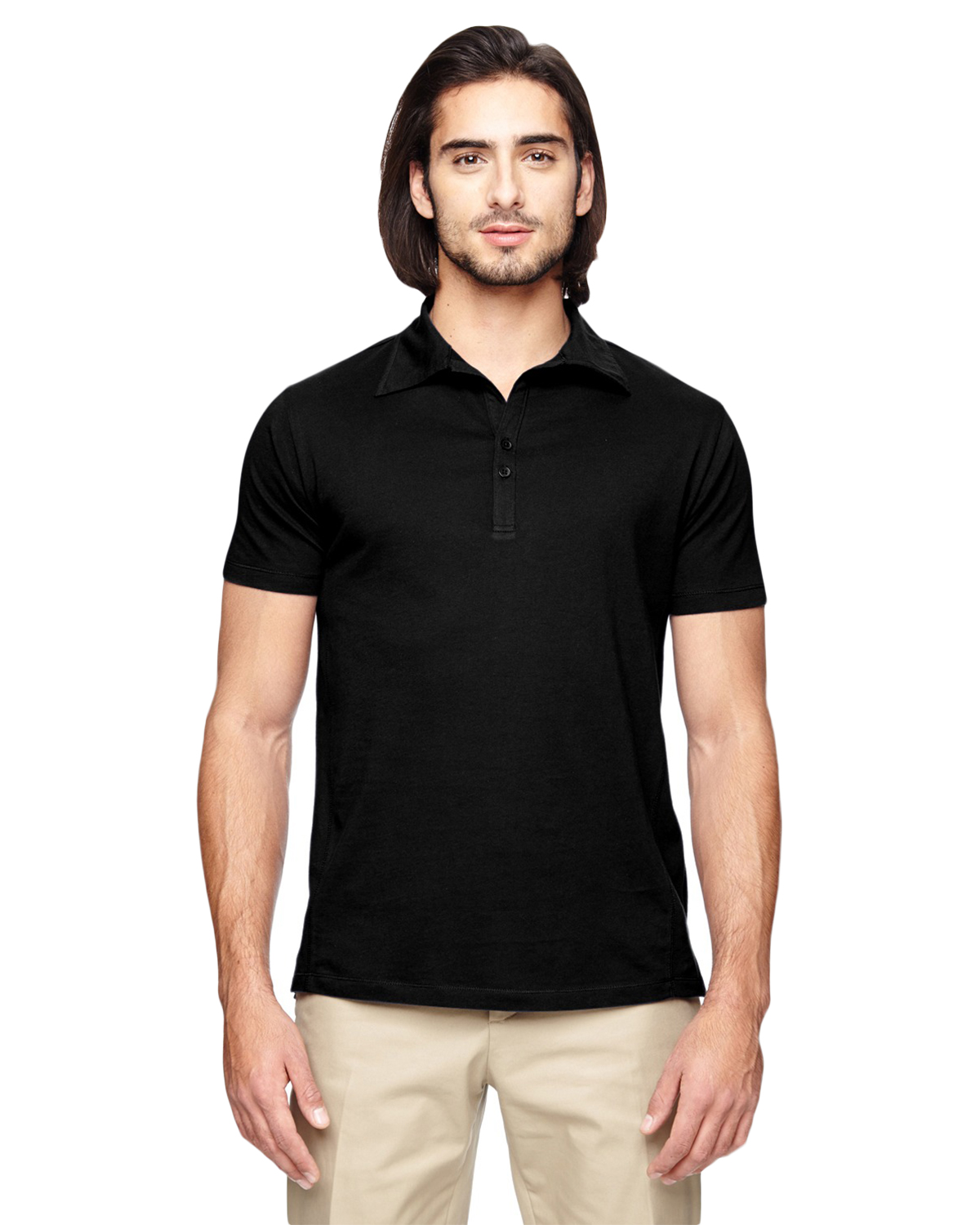 Econscious EC2505 Men 4.4 oz., 100% Organic Cotton Jersey short sleeve Polo at GotApparel