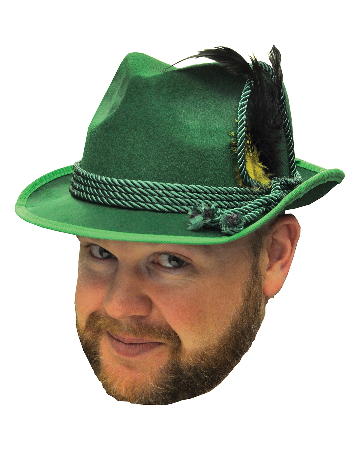 Halloween Costumes FM64580 Octoberfest Hat Green One Size at GotApparel