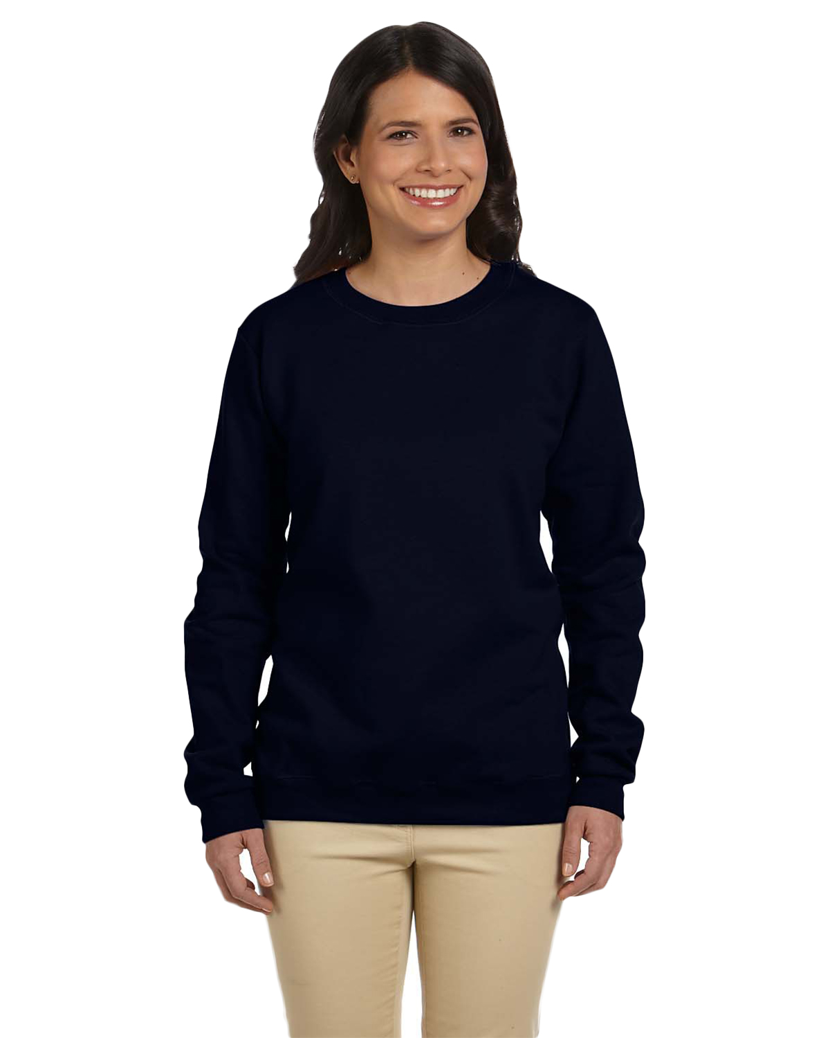 Gildan G180FL Women Heavy Blend 8 oz., 50/50 Fleece Crew at GotApparel
