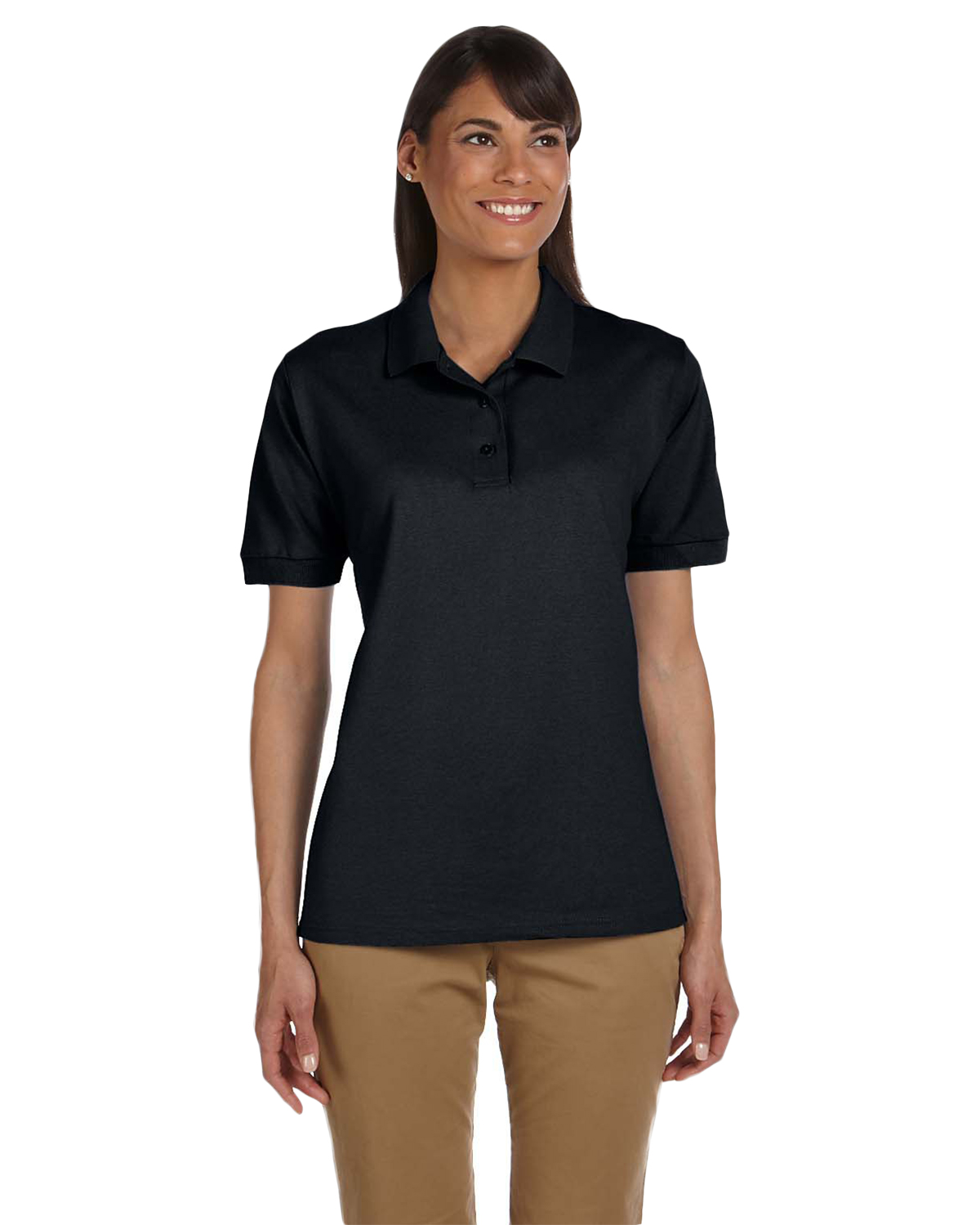 Gildan G380L Women's Ultra Cotton® 6.5 oz. Pique Polo at GotApparel
