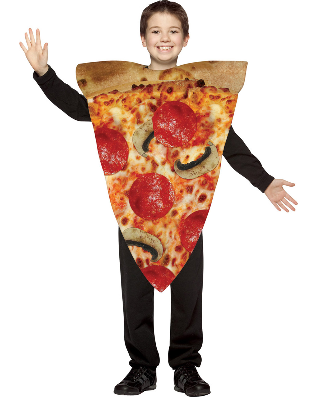 Halloween Costumes GC9105 Pizza Slice Child Costume 7-10 at GotApparel
