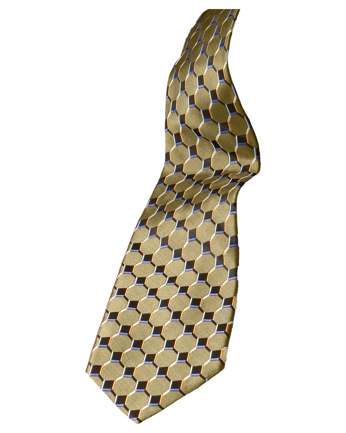 Edwards HC00 Men Signature Honeycomb Fully Lined Silk Tie at GotApparel