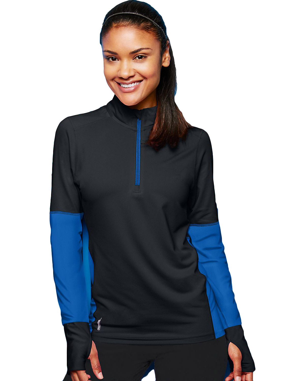 Duofold by Champion KDC3Q Women THERMatrix 1/4 Zip Pullover at GotApparel