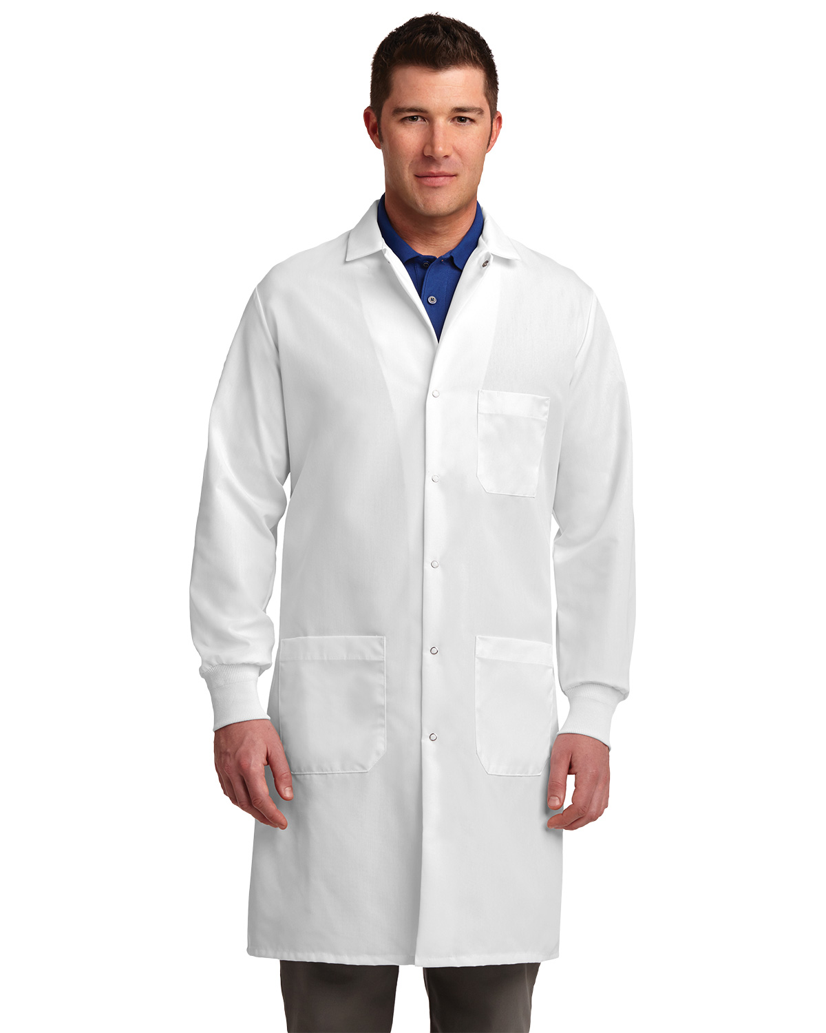 Red Kap KP70 Unisex Specialized Cuffed Lab Coat at GotApparel