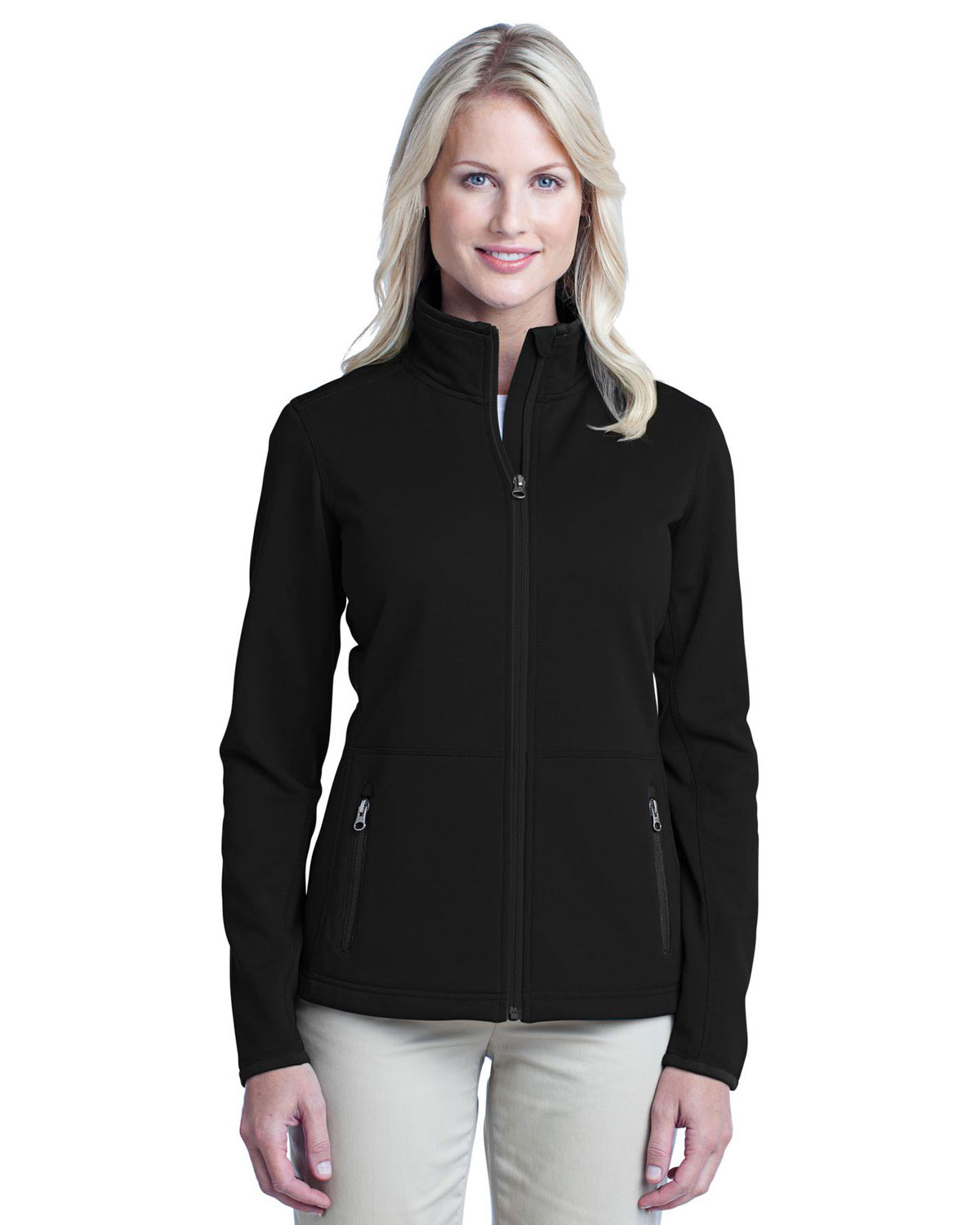 Port Authority L222 Women Pique Fleece Jacket at GotApparel