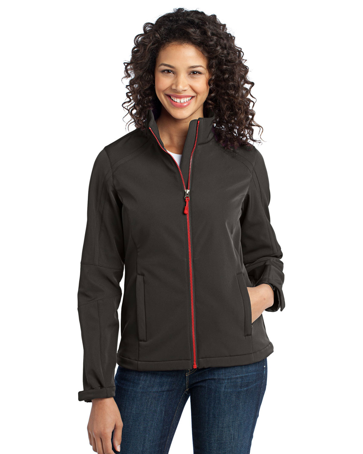 Port Authority L316 Women Traverse Soft Shell Jacket at GotApparel