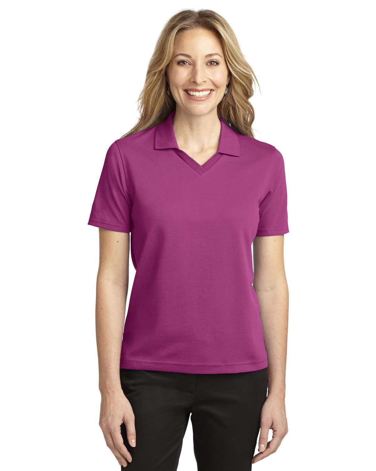 Port Authority L455 Women Rapid Dry™ Polo at GotApparel