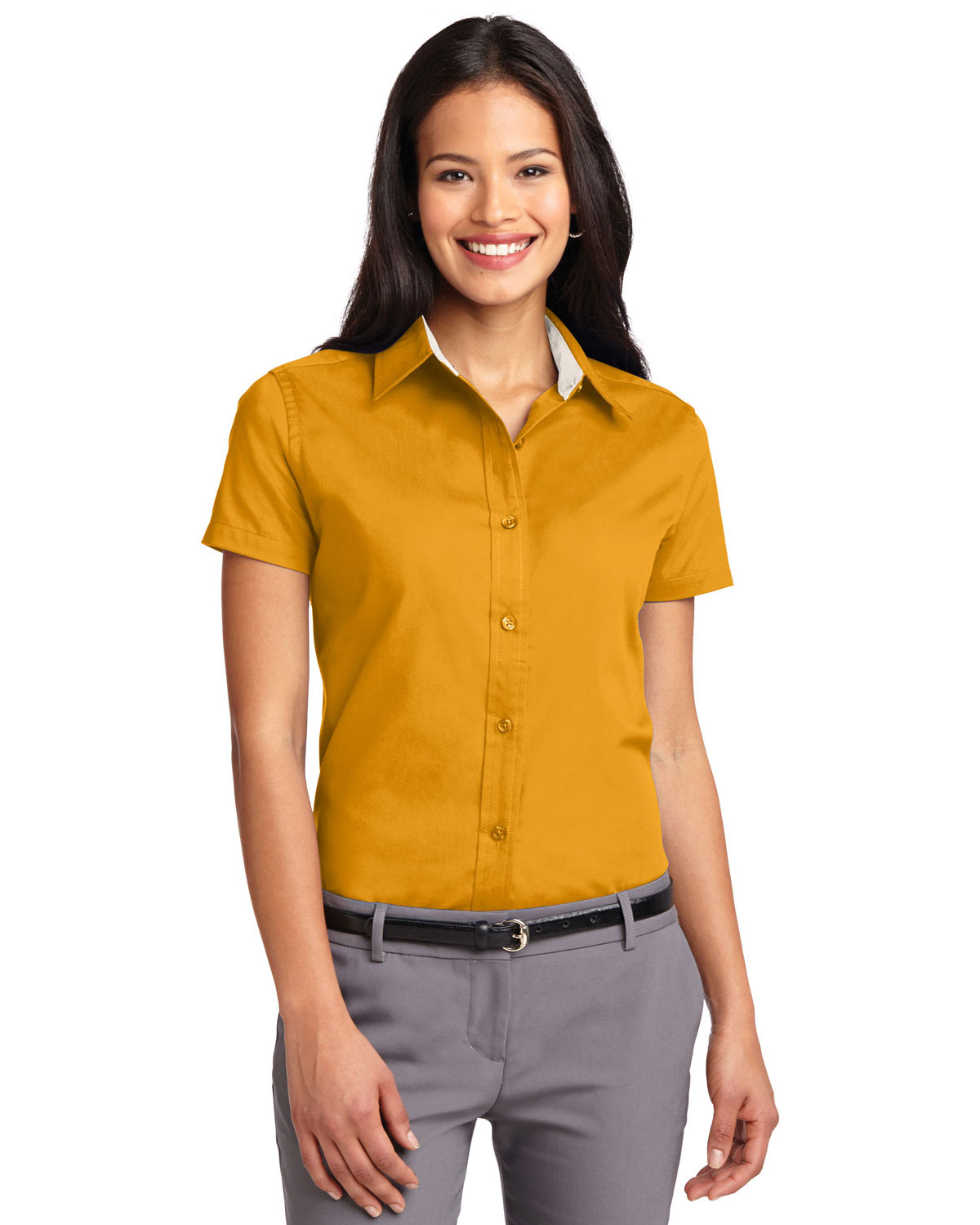 Port Authority L508 Women Short Sleeve Easy Care Shirt at GotApparel