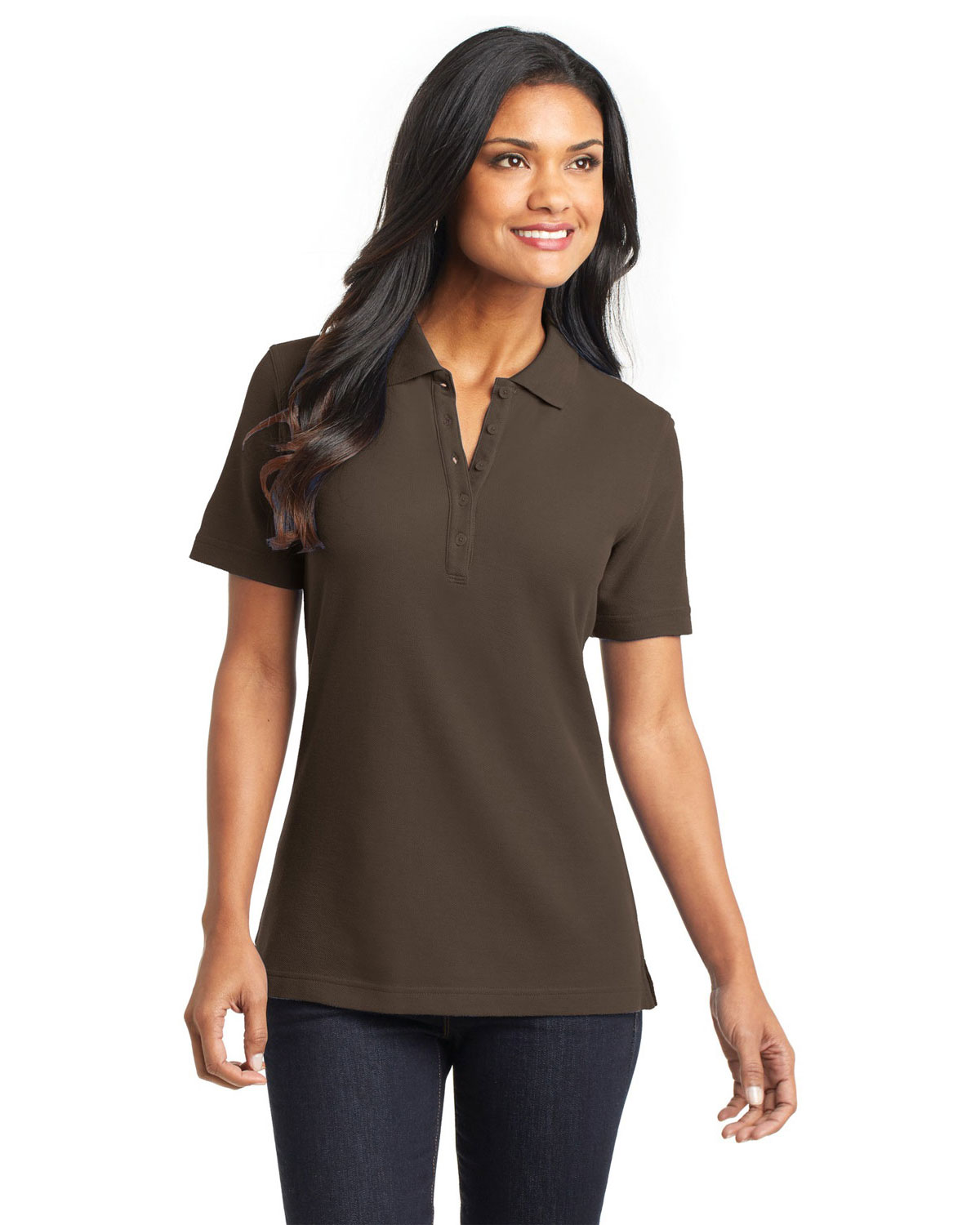 Port Authority L800 Women EZCotton™ Pique Polo at GotApparel