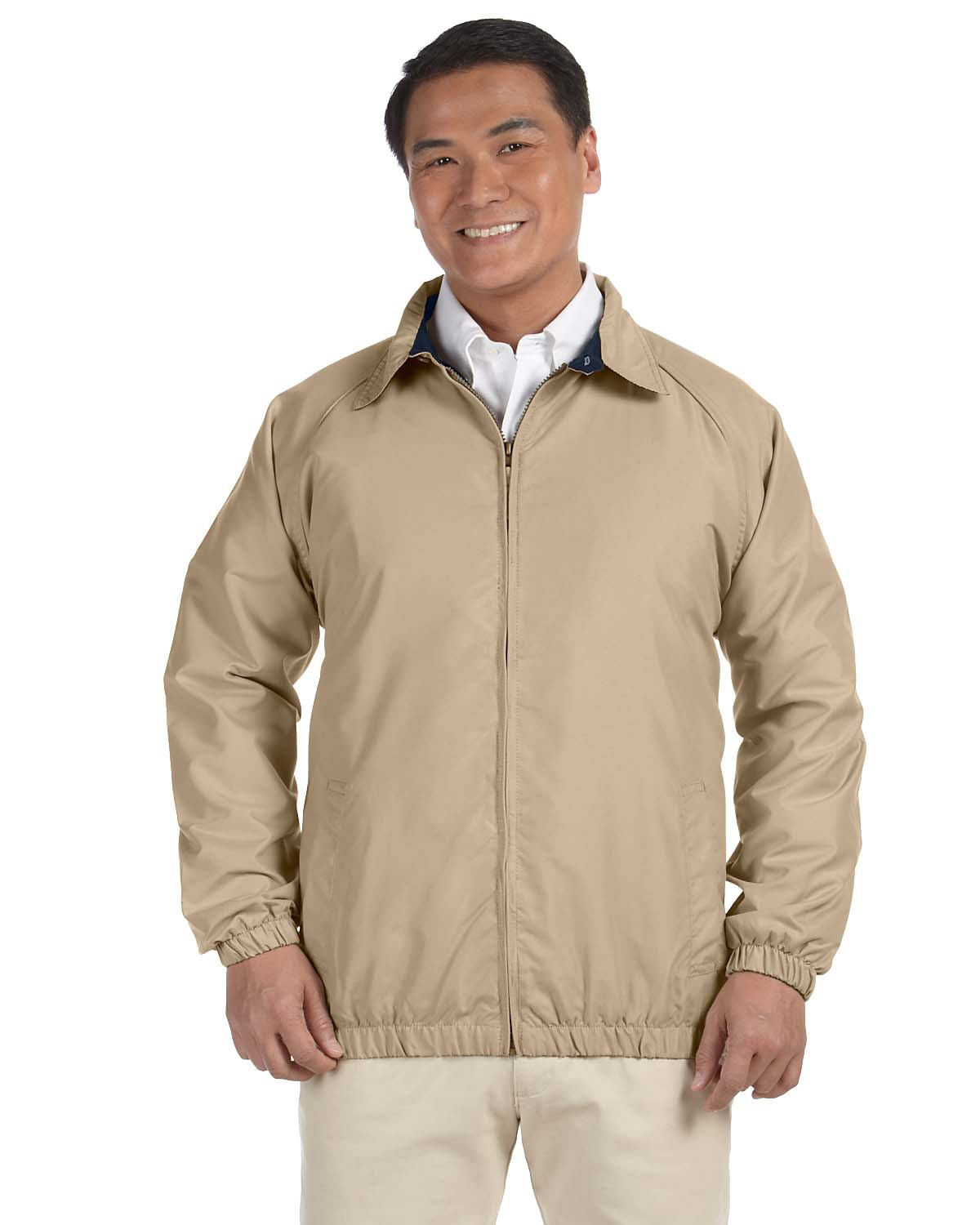 Harriton M710 Men Microfiber Club Jacket at GotApparel
