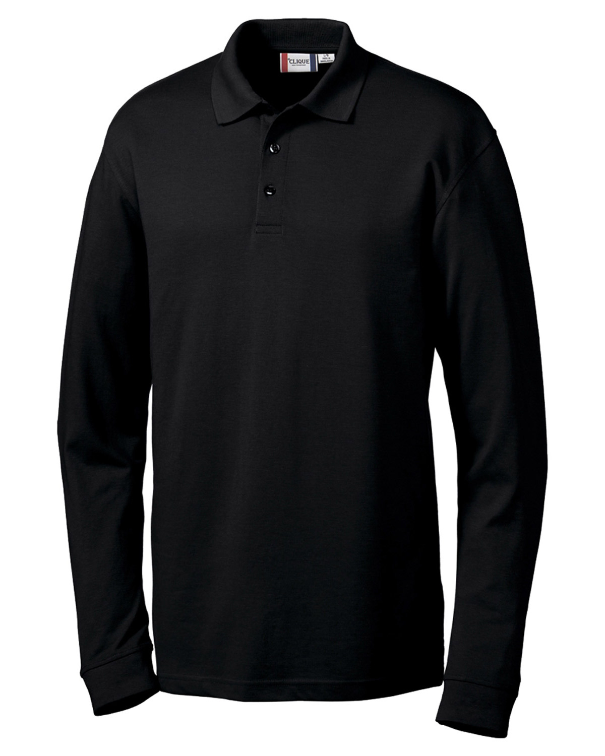 Clique New Wave MQK00012 Men Long Sleeve Evans at GotApparel