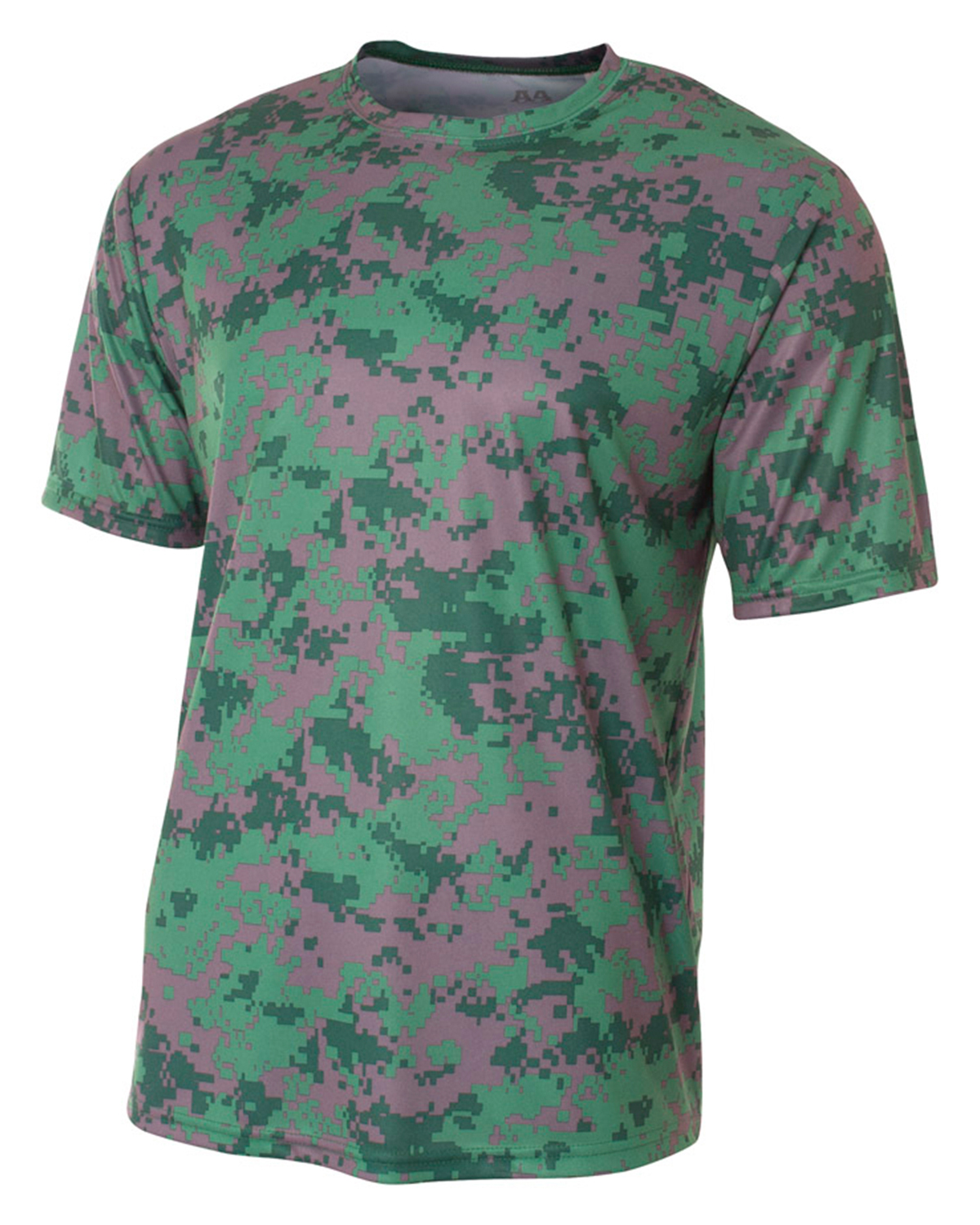 A4 N3256 Men Camo Performance Tee at GotApparel