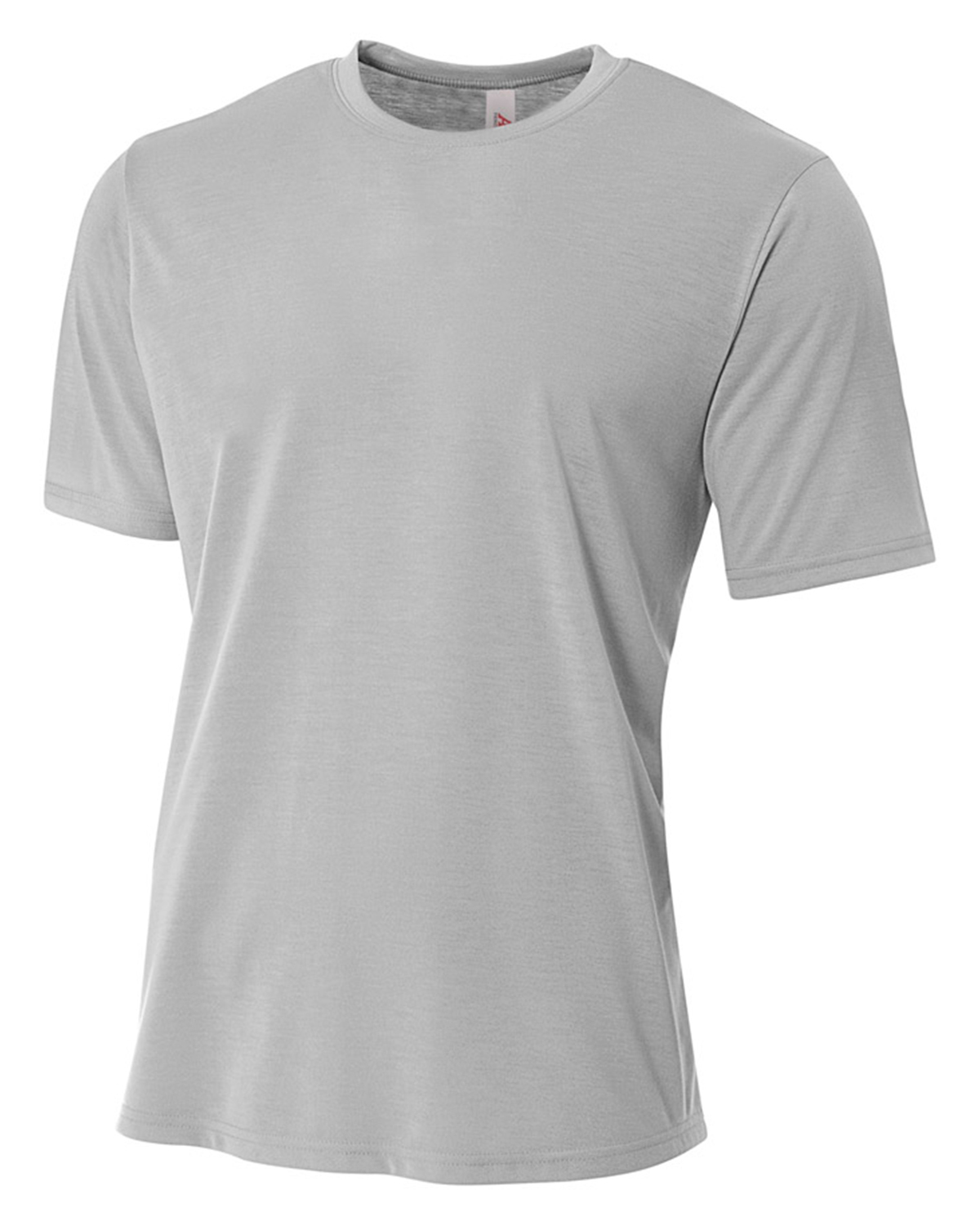 A4 NB3264 Boys Spun Poly Tee at GotApparel