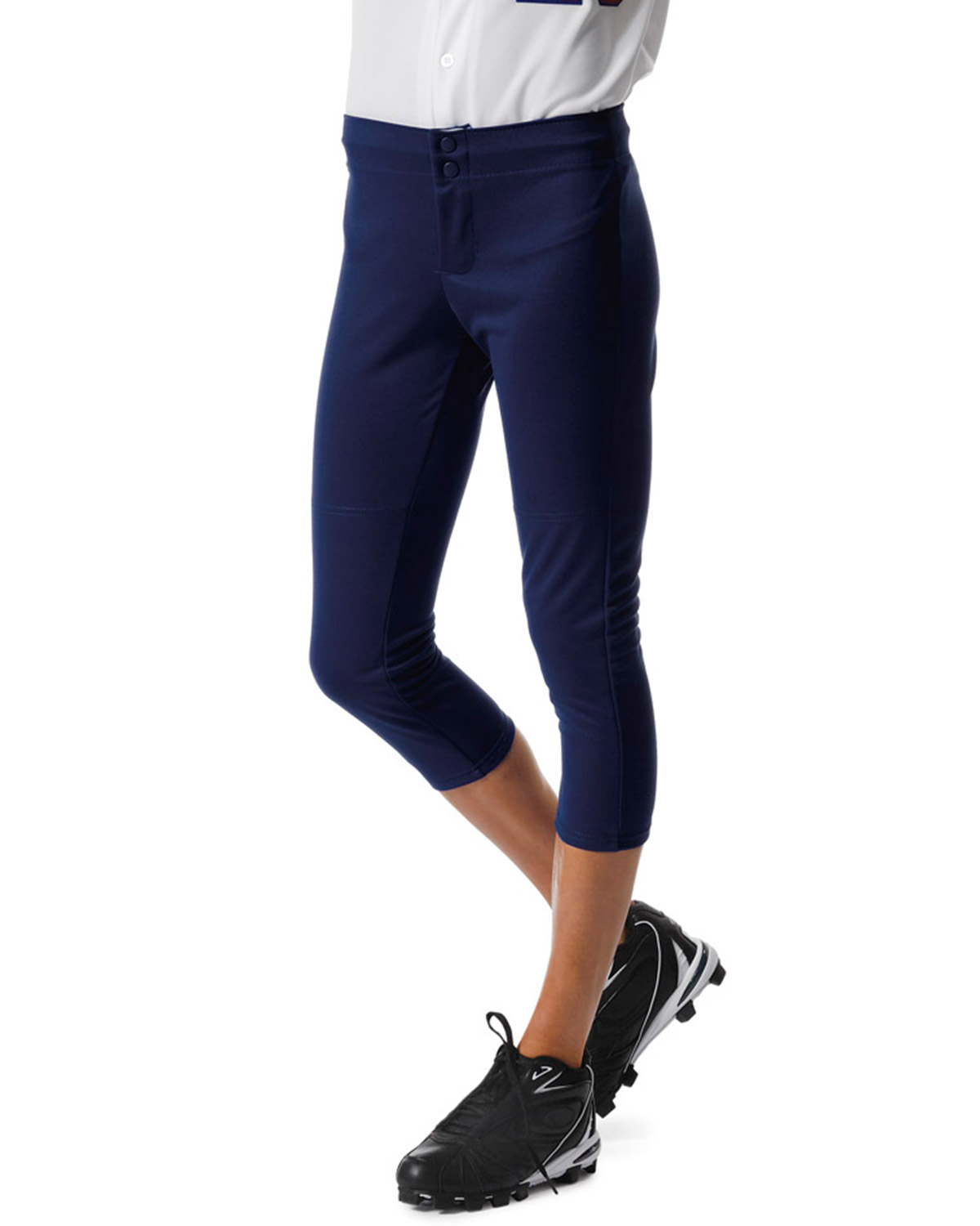 A4 NG6166 Girl's Drop Ship Softball Pants at GotApparel