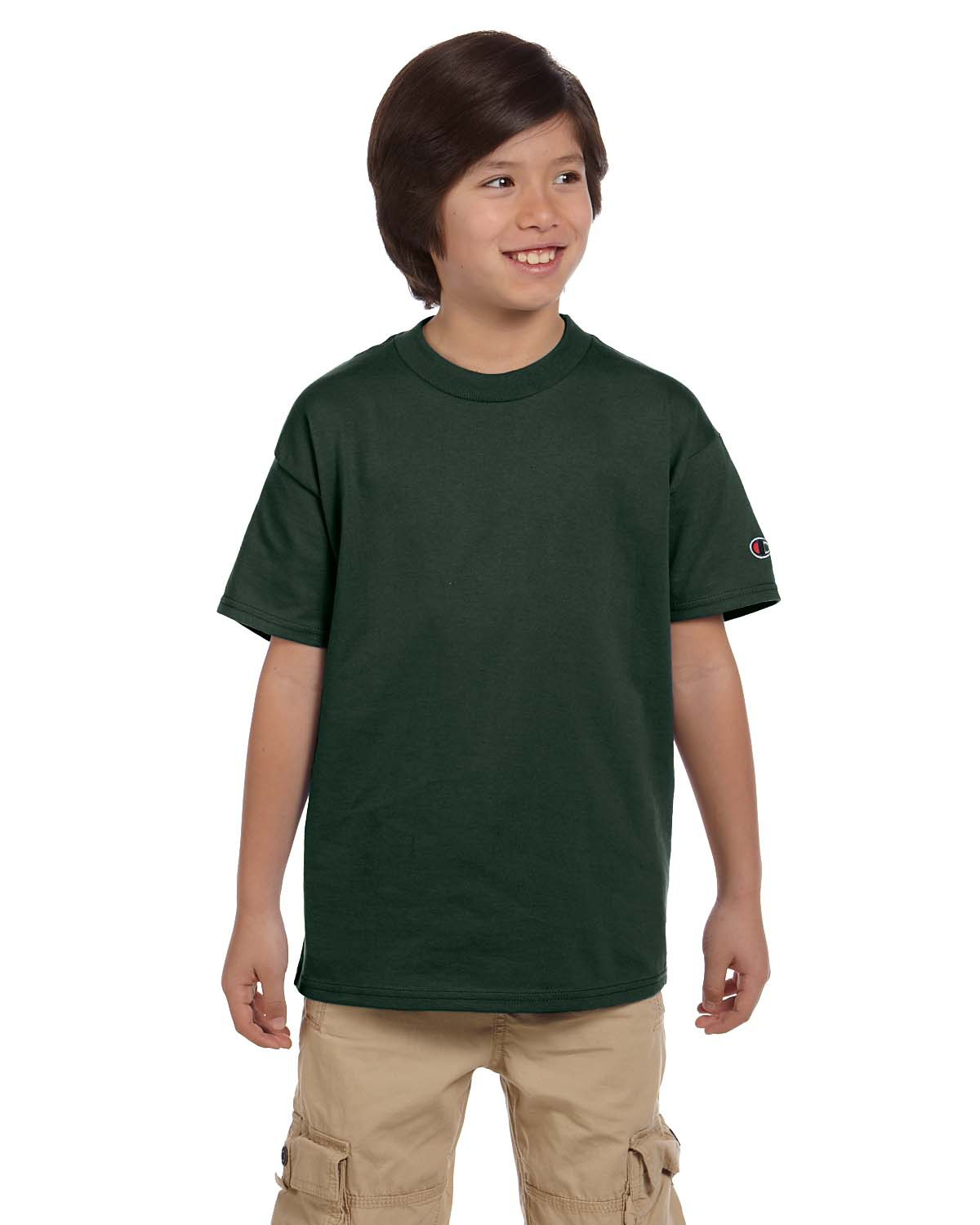 Champion T435 Boys 6.1 oz. short sleeve T-Shirt at GotApparel