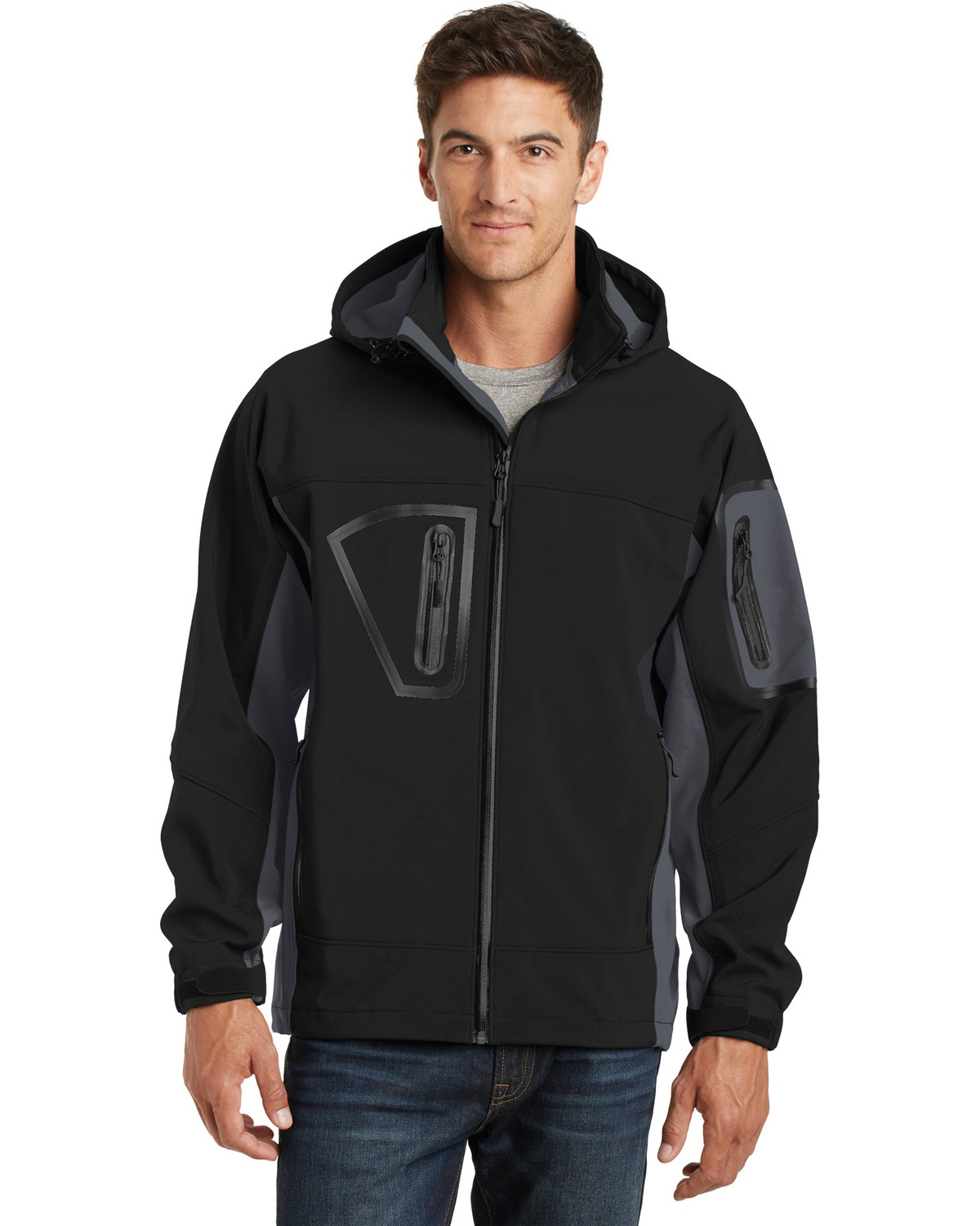 Port Authority TLJ798 Men Tall Waterproof Soft Shell Jacket at GotApparel
