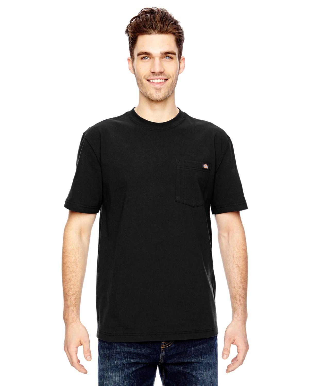 Dickies WS450 Adult 6.75 oz. Heavyweight Work T-Shirt at GotApparel